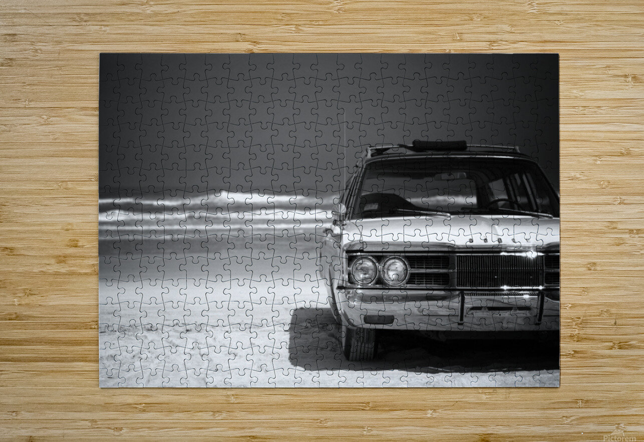 Daytona Beach 1  HD Metal print with Floating Frame on Back
