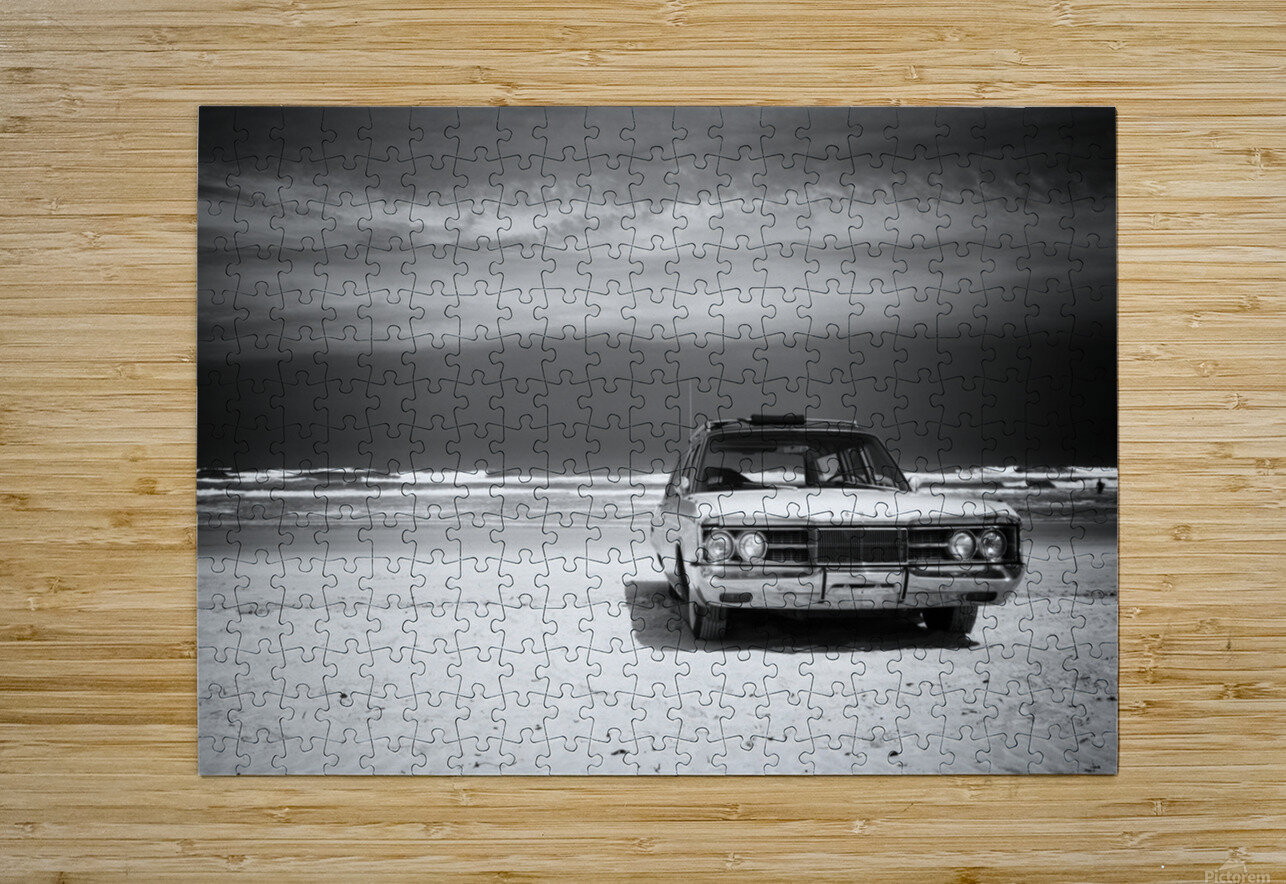 Daytona Beach 2  HD Metal print with Floating Frame on Back