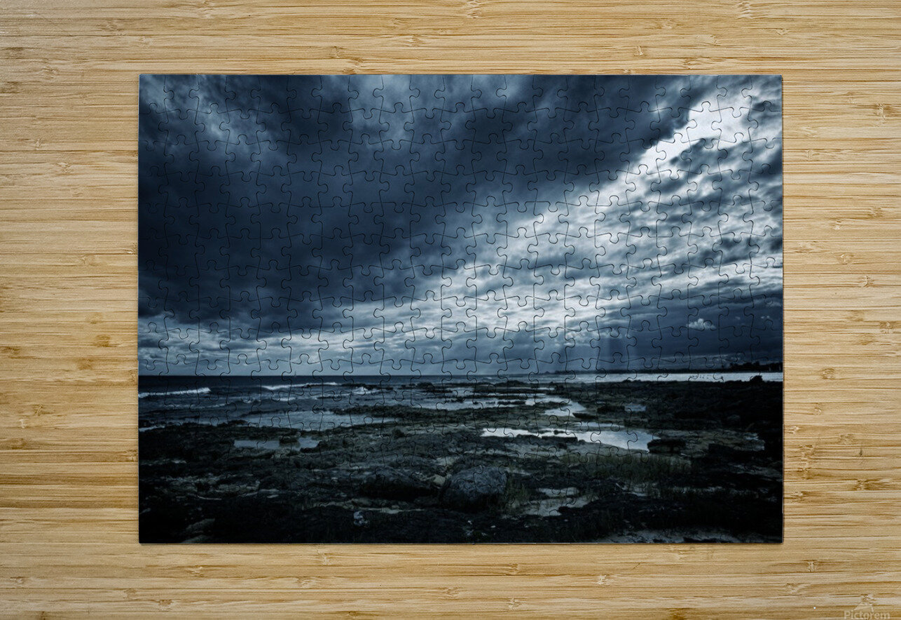 Dramatic Sky  HD Metal print with Floating Frame on Back