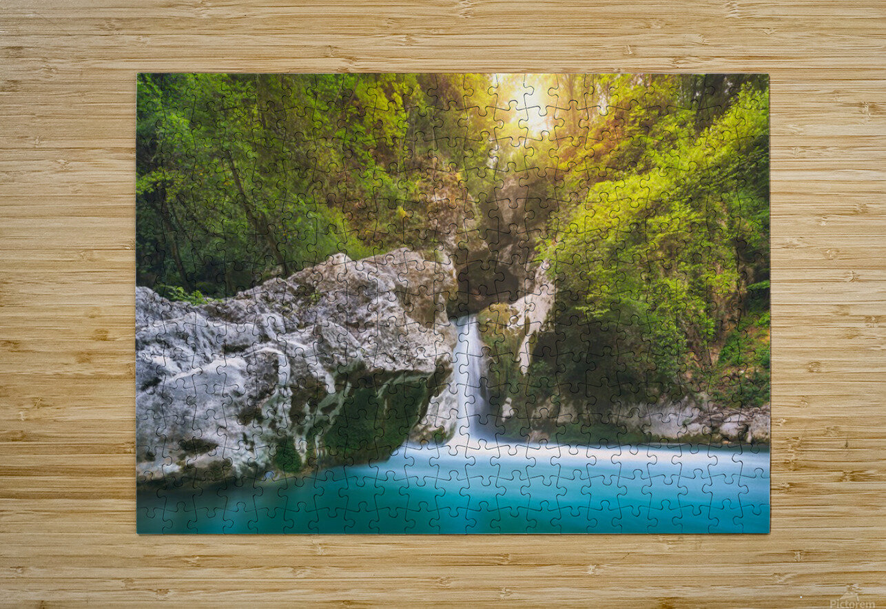 SanB  HD Metal print with Floating Frame on Back