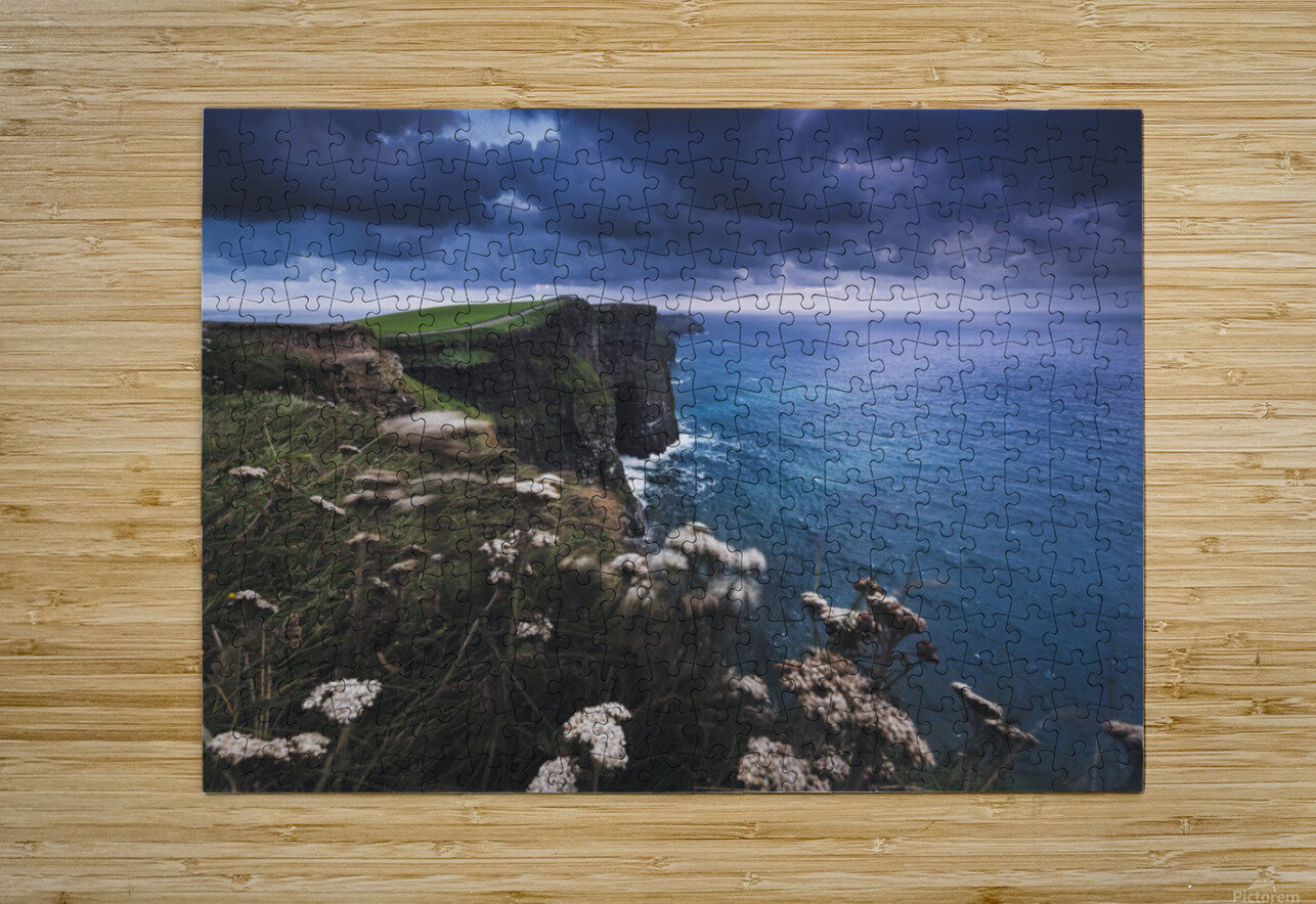 Funambulism  HD Metal print with Floating Frame on Back