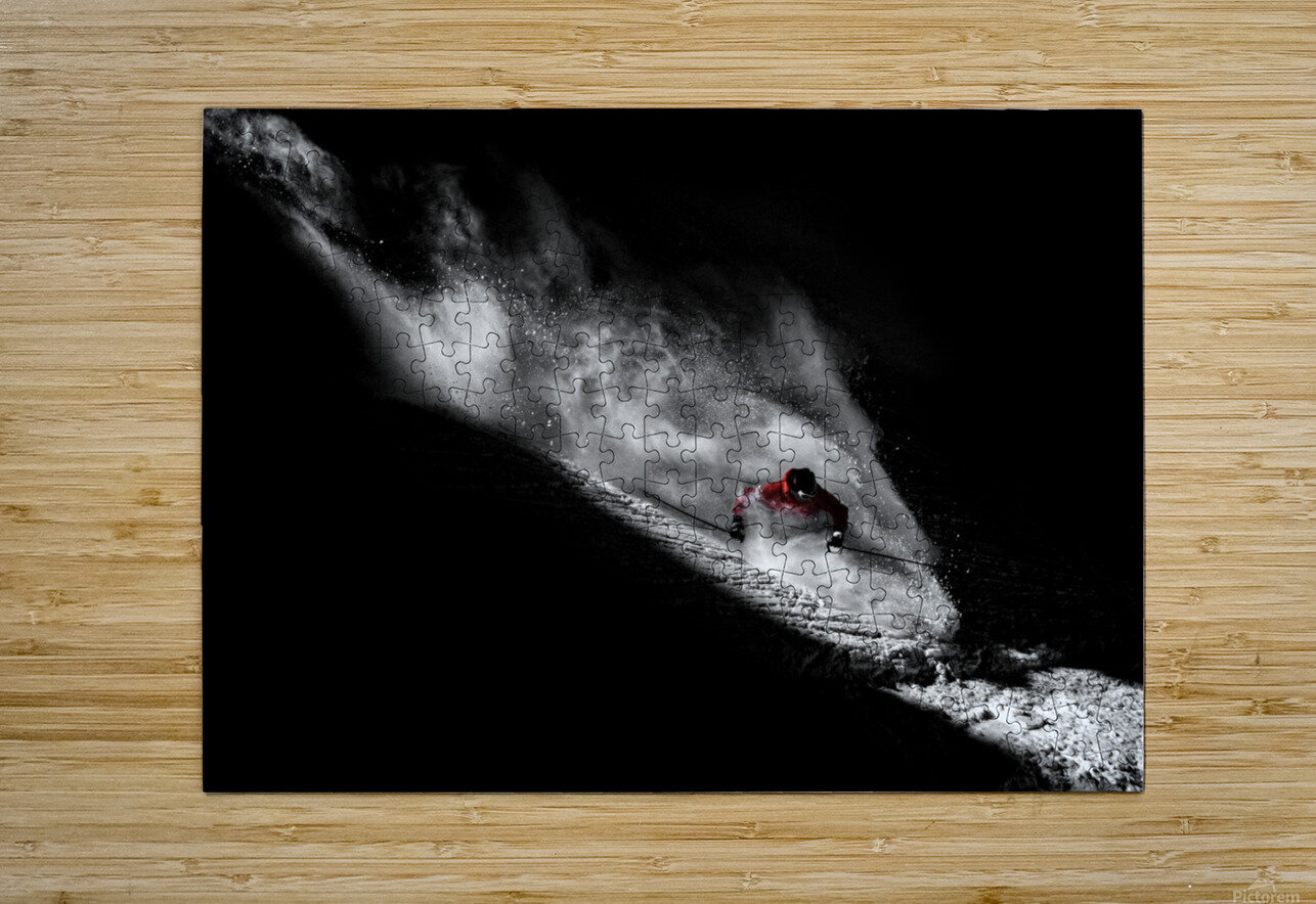 Caught in the sin  HD Metal print with Floating Frame on Back