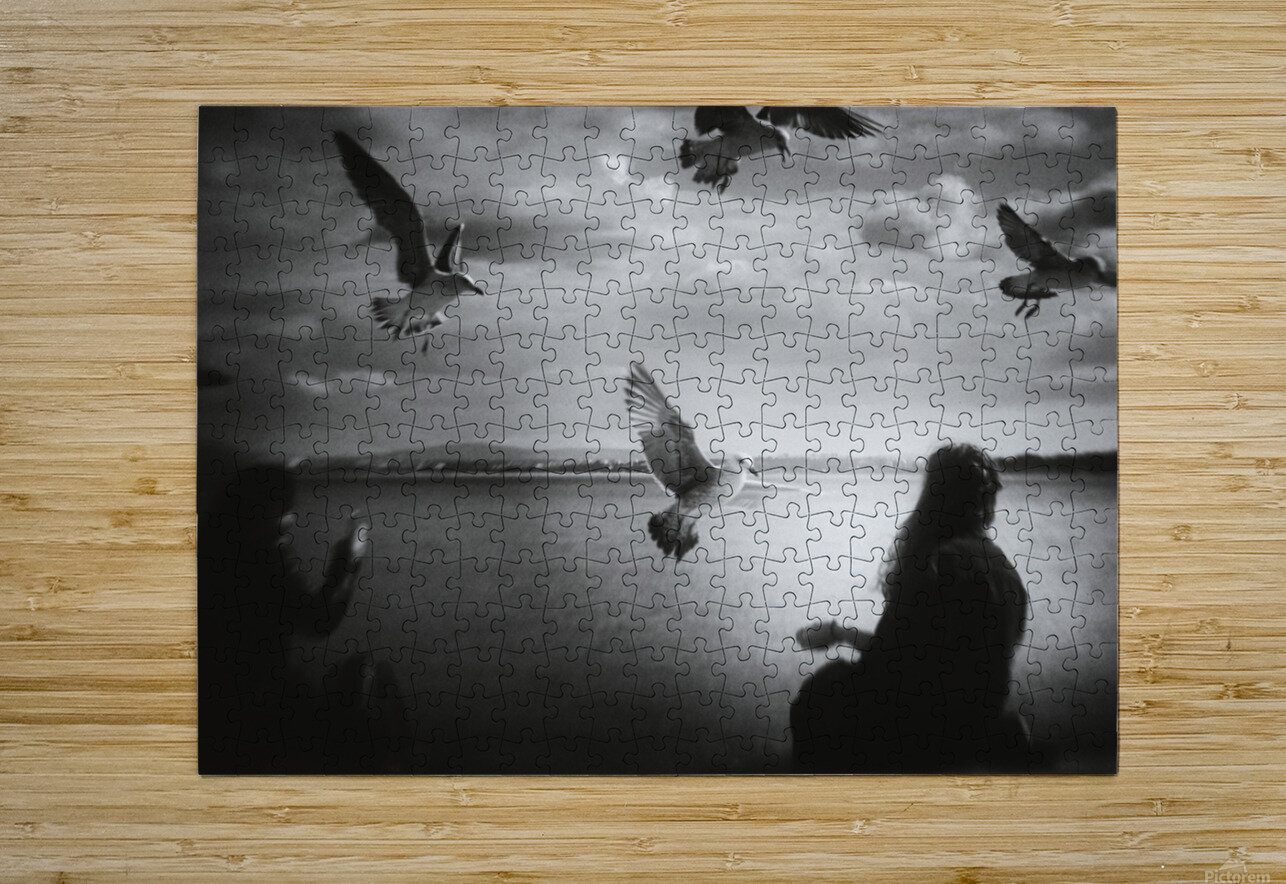 Soul Call  HD Metal print with Floating Frame on Back
