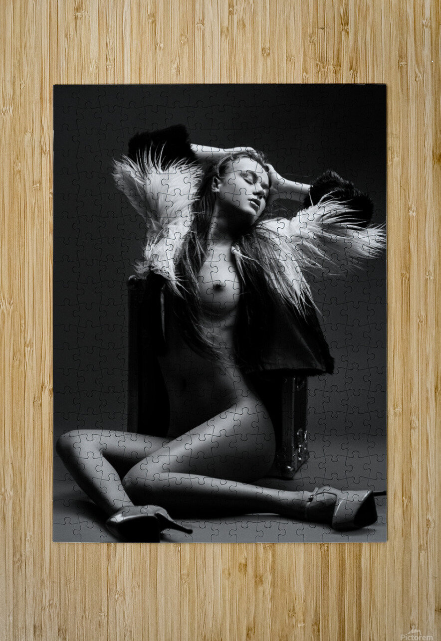 Sensuality  HD Metal print with Floating Frame on Back
