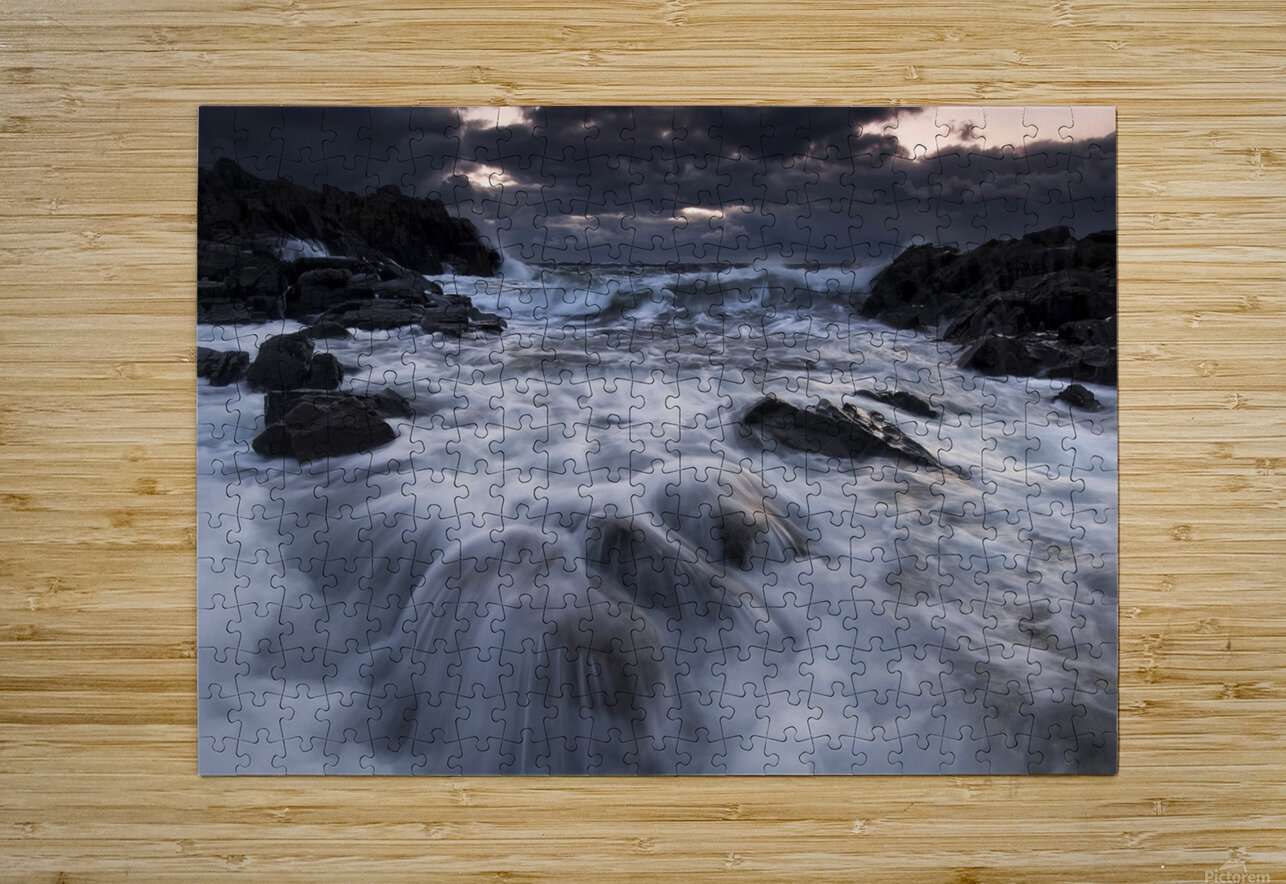 Furious  HD Metal print with Floating Frame on Back