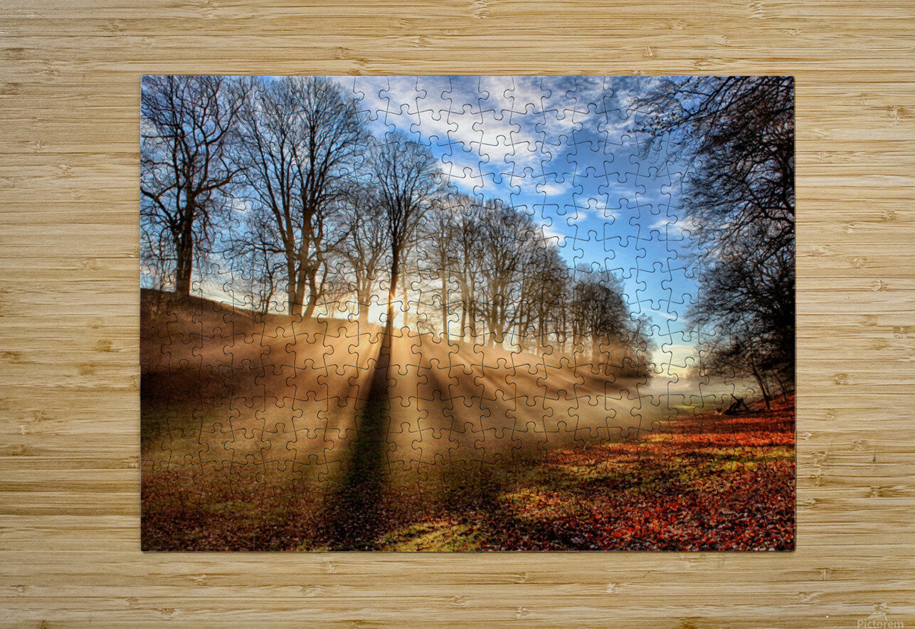 Mill of Shadows  HD Metal print with Floating Frame on Back