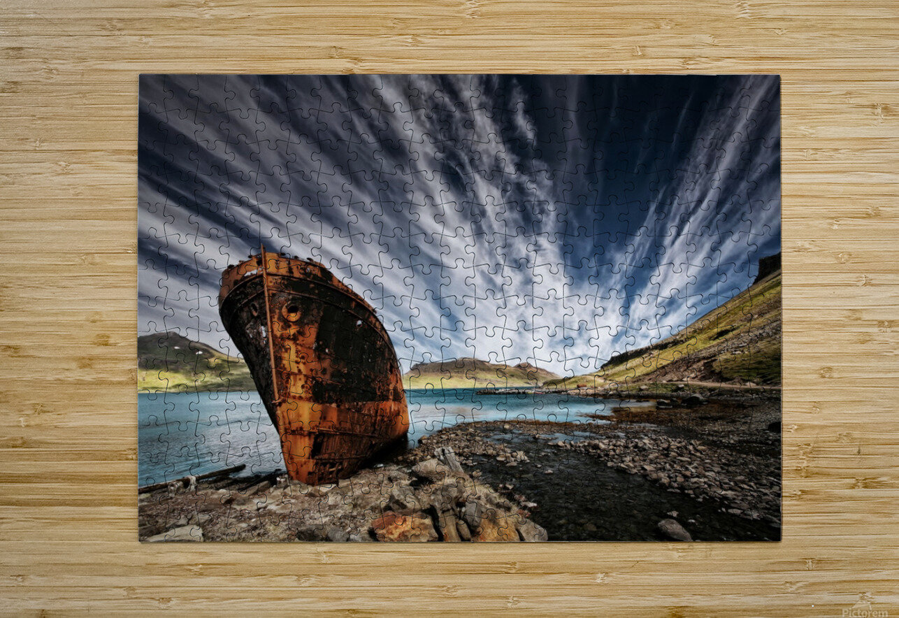 Chosen Place  HD Metal print with Floating Frame on Back