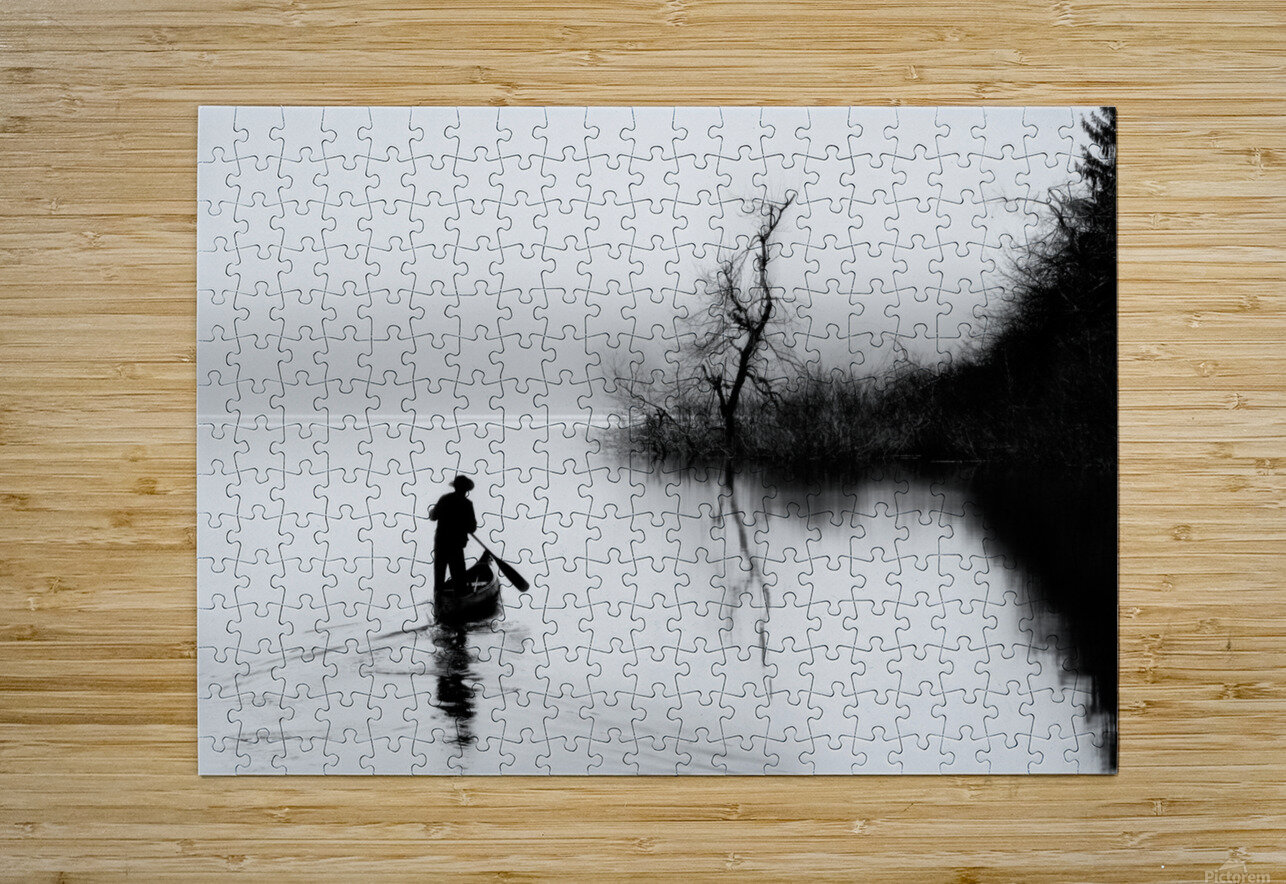 peace  HD Metal print with Floating Frame on Back