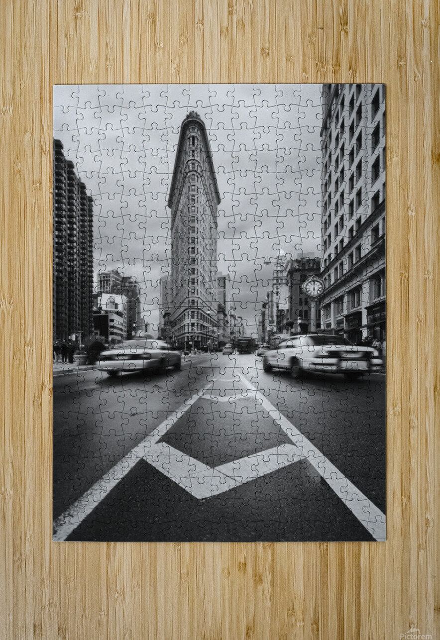 Taxiiii  HD Metal print with Floating Frame on Back