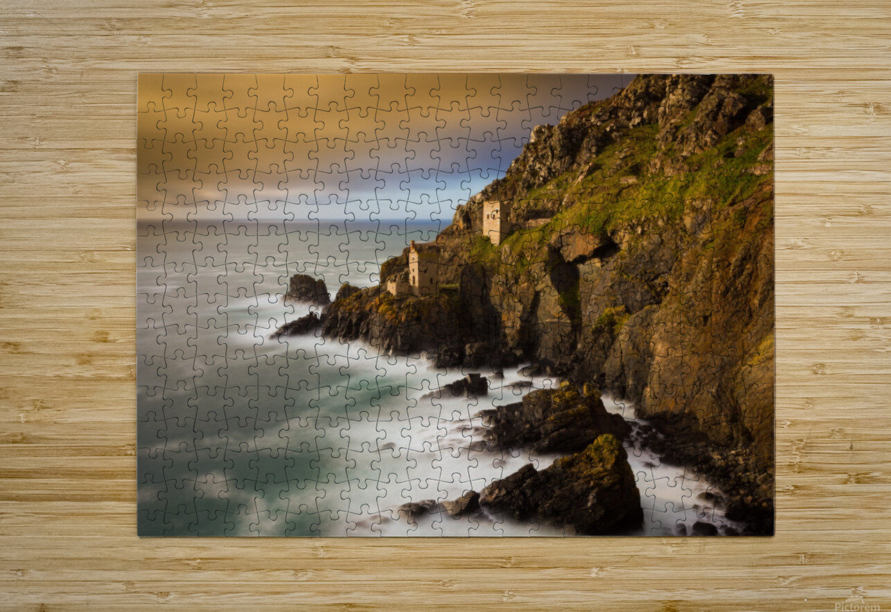 Botallack in 40 seconds  HD Metal print with Floating Frame on Back