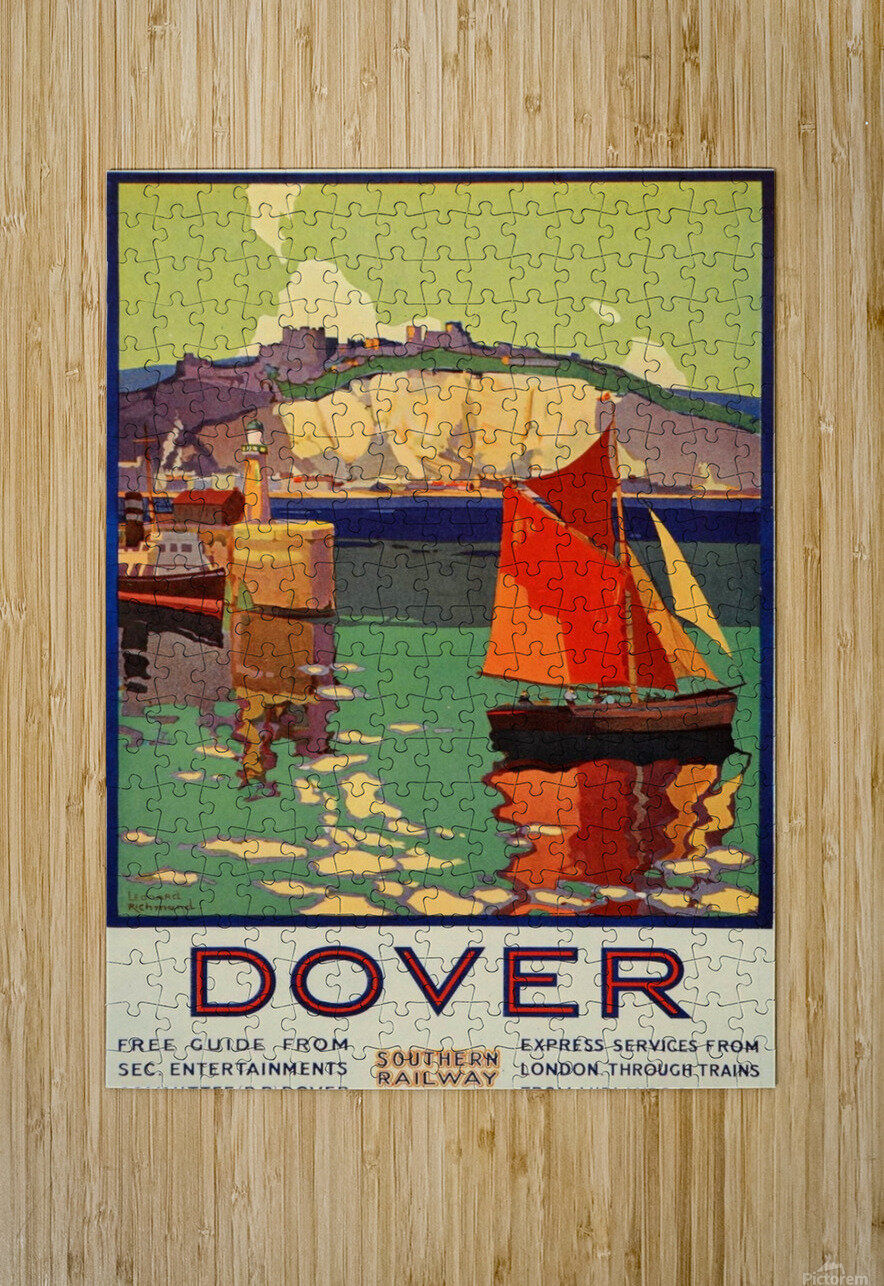 Dover Southern Railway  HD Metal print with Floating Frame on Back