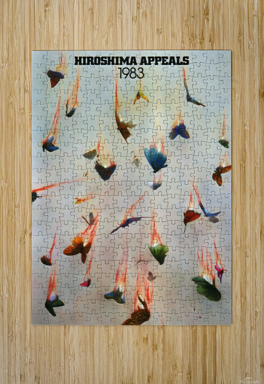 Hiroshima Appeals 1983  HD Metal print with Floating Frame on Back