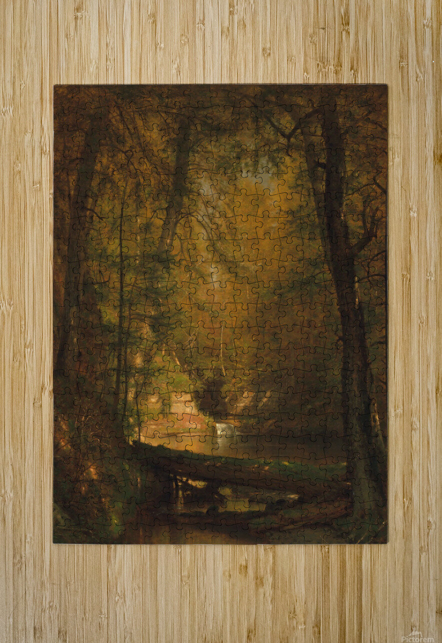 The Trout Pool  HD Metal print with Floating Frame on Back