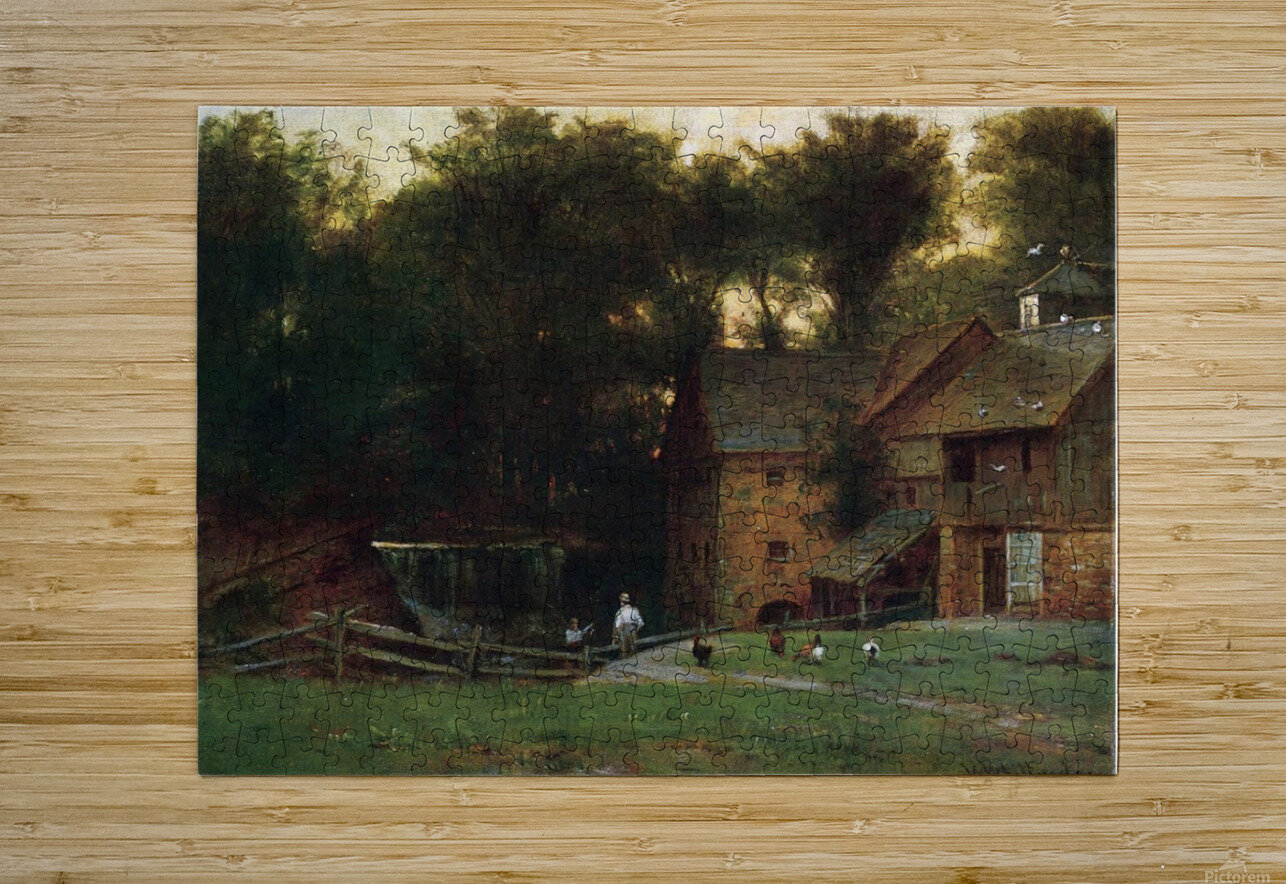 The Mill, Simsbury  HD Metal print with Floating Frame on Back