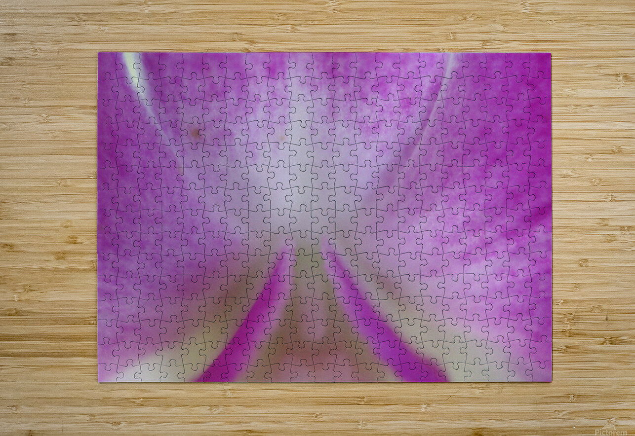 purpletongue2  HD Metal print with Floating Frame on Back