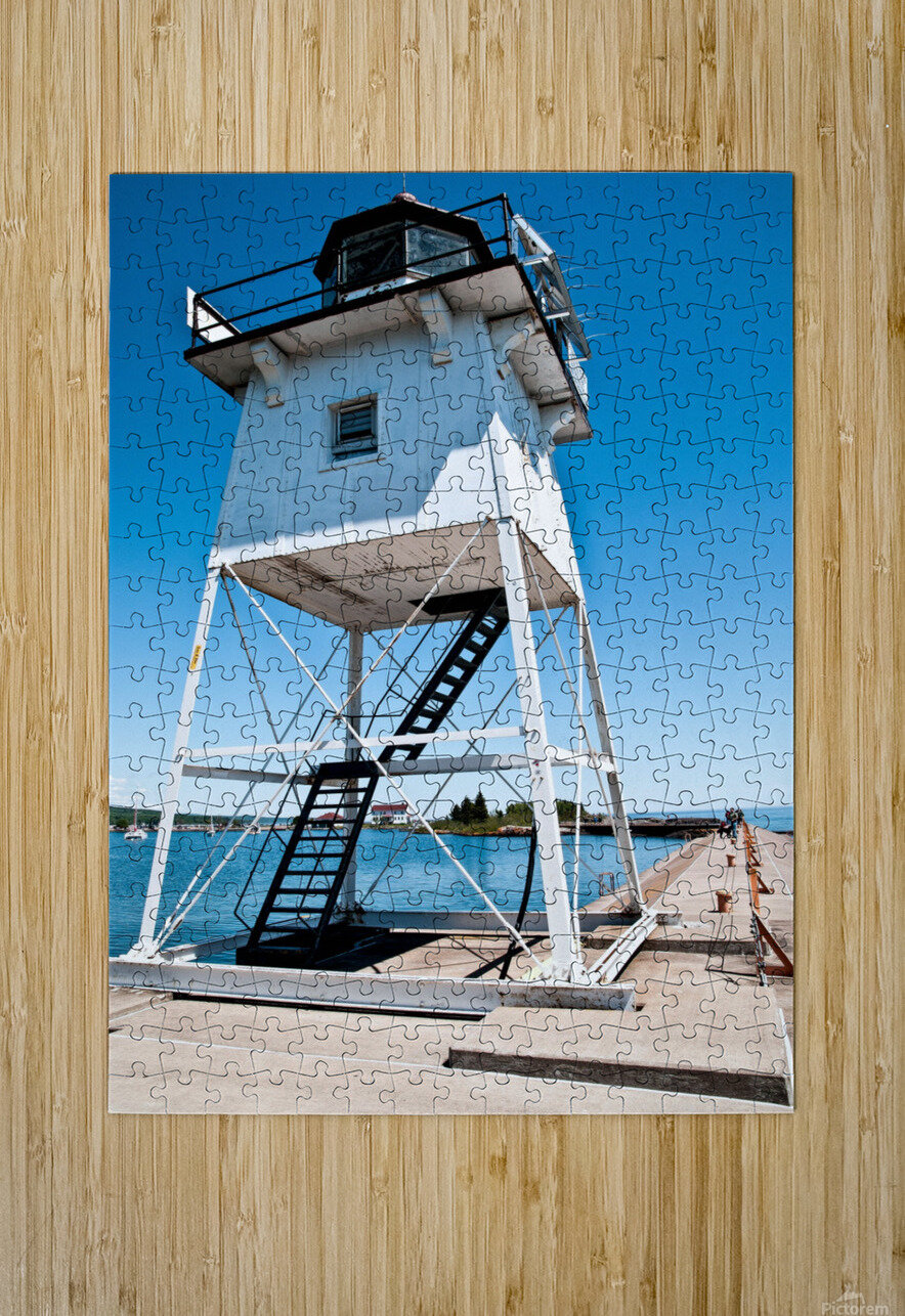 Lighthouse   HD Metal print with Floating Frame on Back
