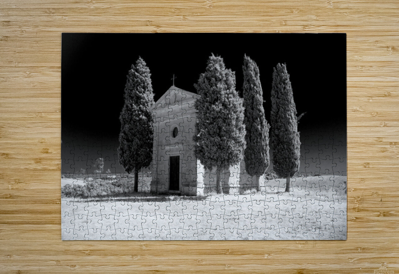 Tuscany Montalcino  HD Metal print with Floating Frame on Back