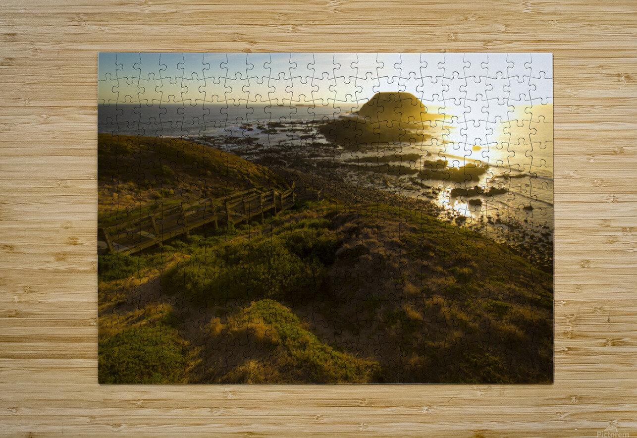 Phillip Island  Impression métal HD avec cadre flottant sur le dos