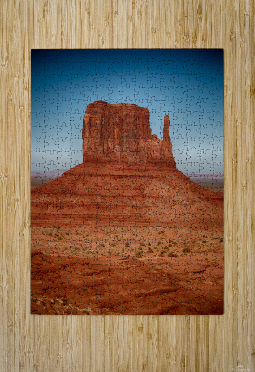 Monument Valley 4  HD Metal print with Floating Frame on Back