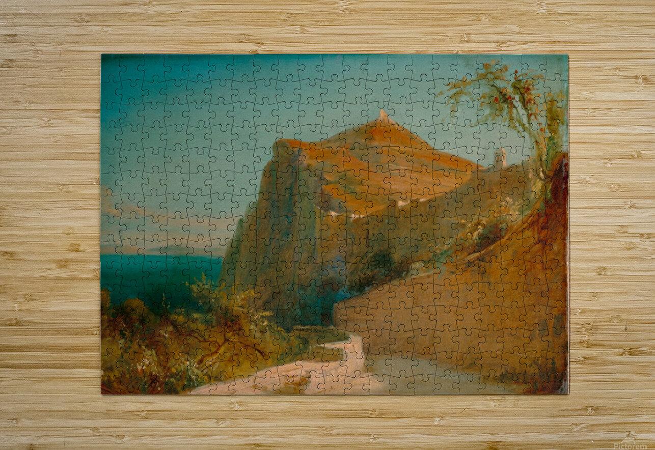Tiberiusfelsen auf Capri  HD Metal print with Floating Frame on Back