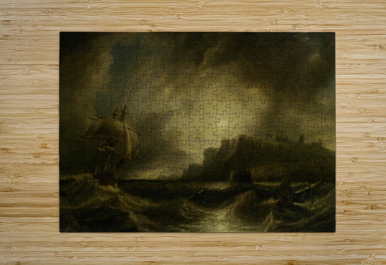 A Breezy Evening off Saint Hildas  HD Metal print with Floating Frame on Back