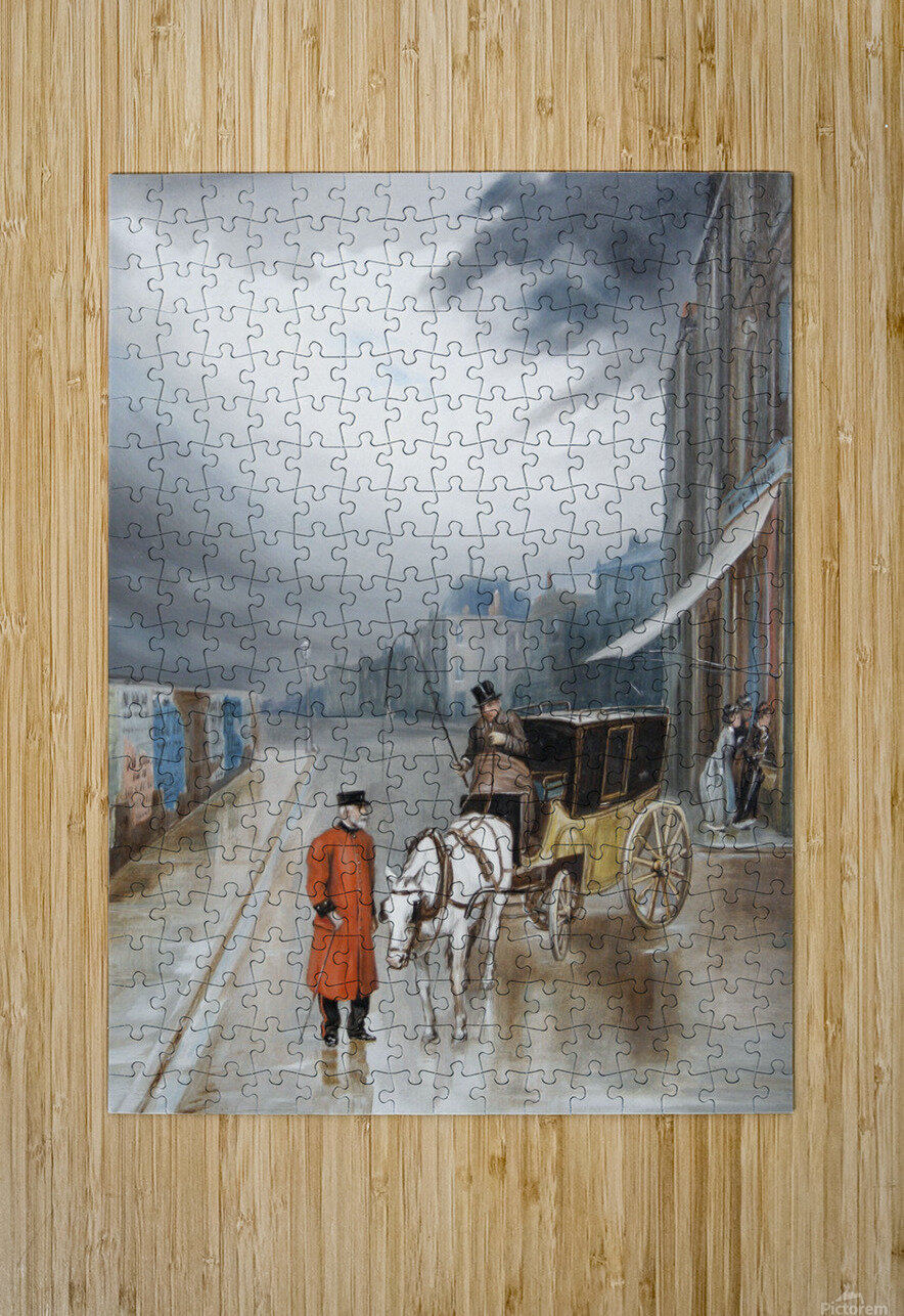 After rain - Chelsea  HD Metal print with Floating Frame on Back