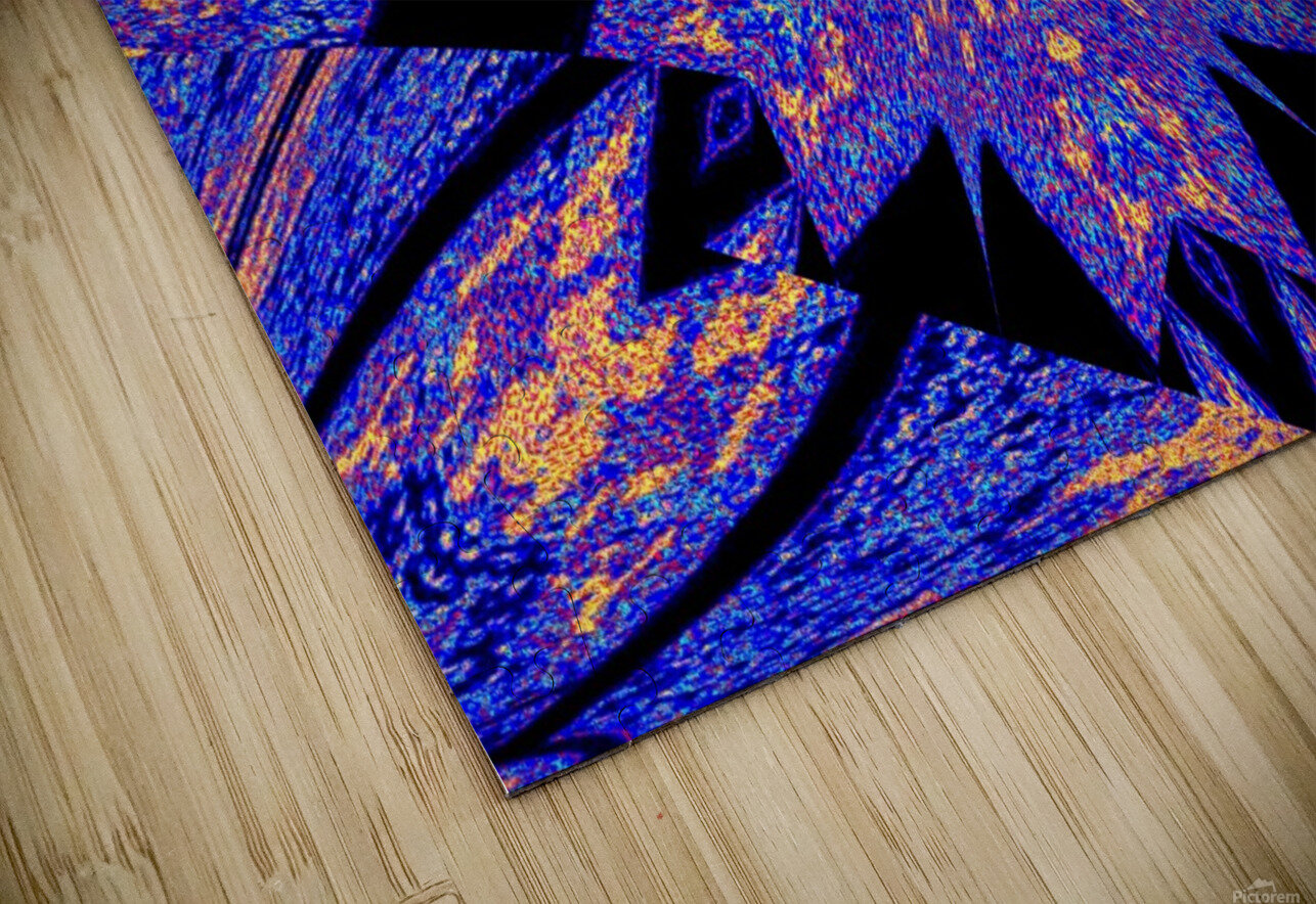 Sapphire of The Desert HD Sublimation Metal print