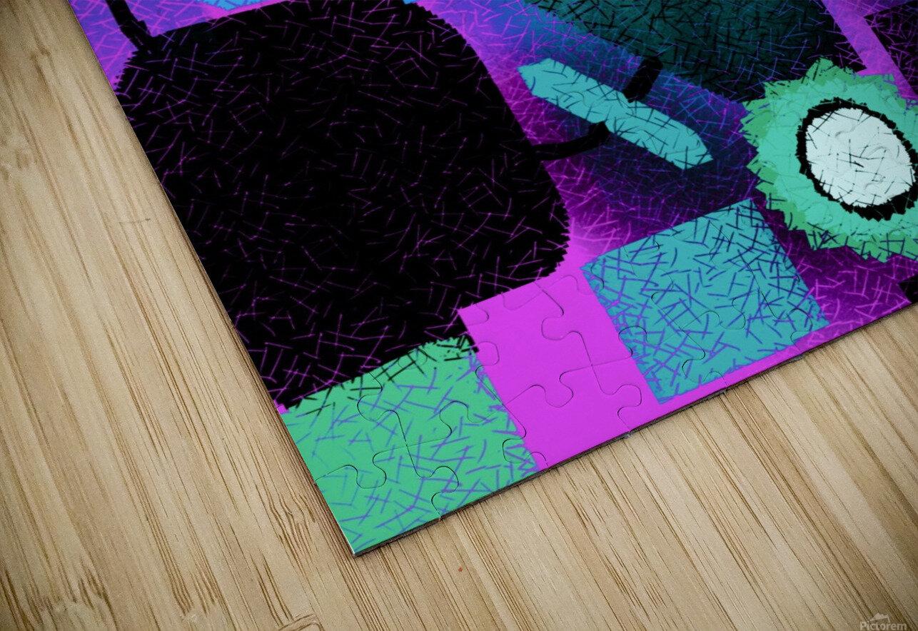 Shapes HD Sublimation Metal print