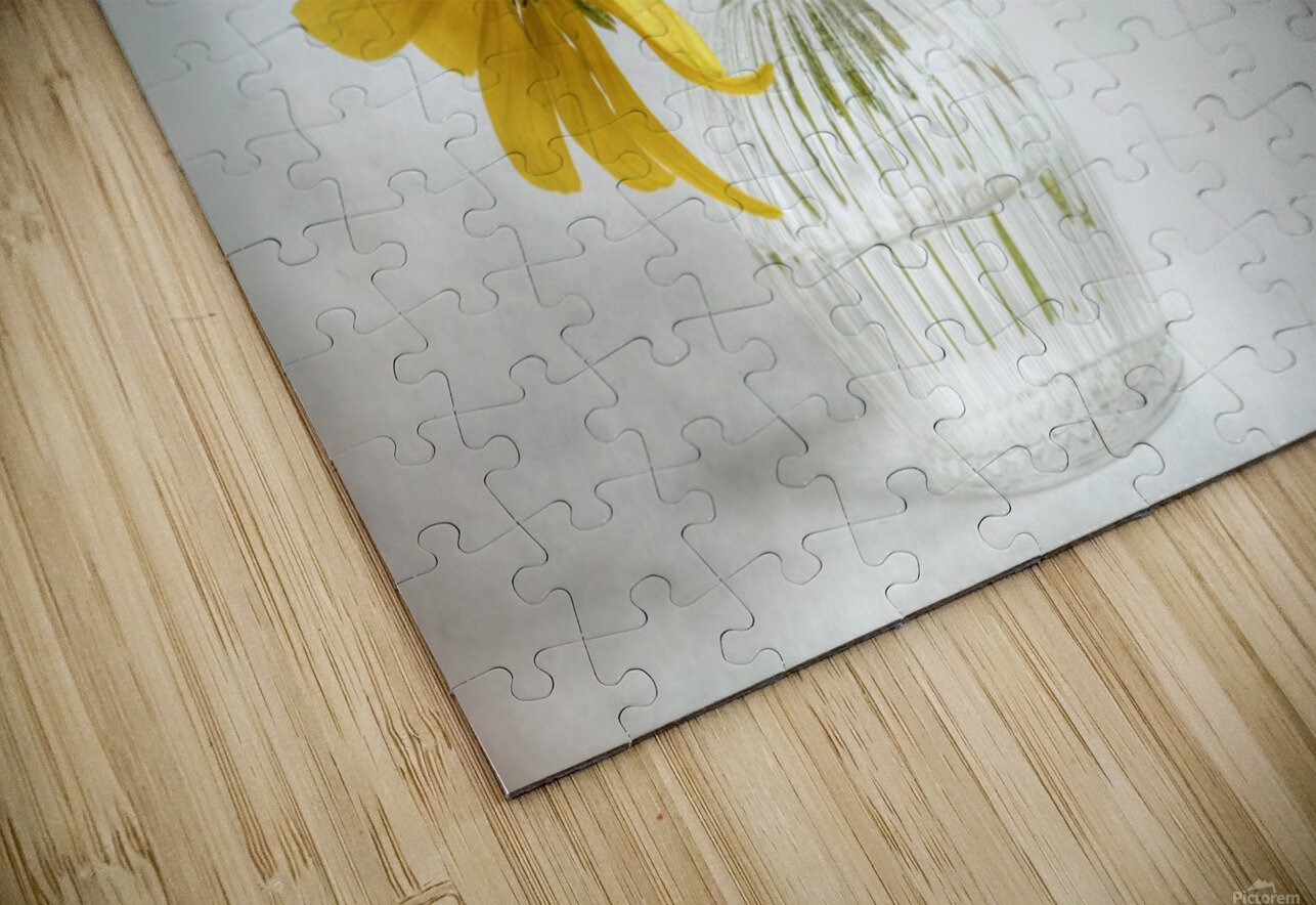 Rudbeckia HD Sublimation Metal print