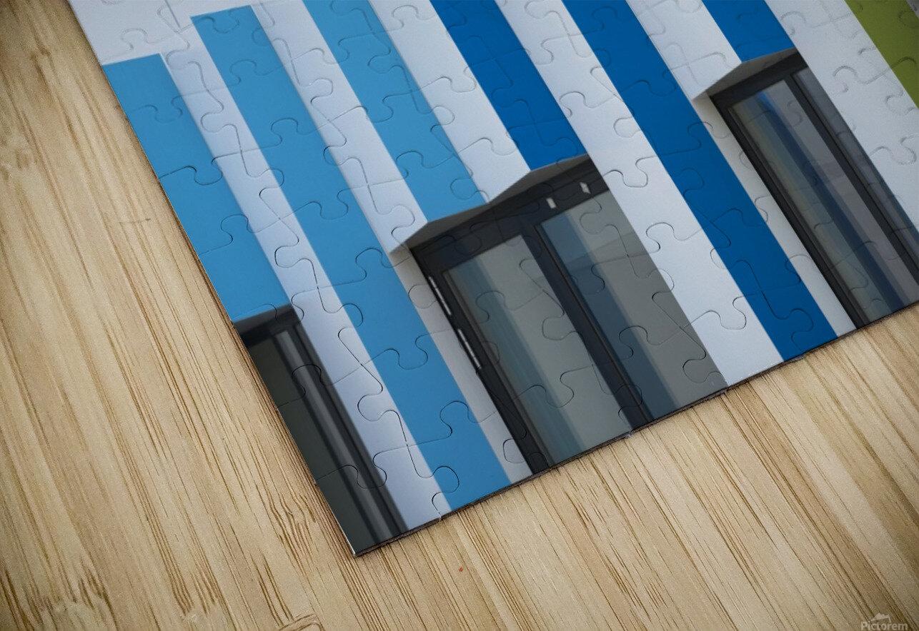 Triple facades HD Sublimation Metal print