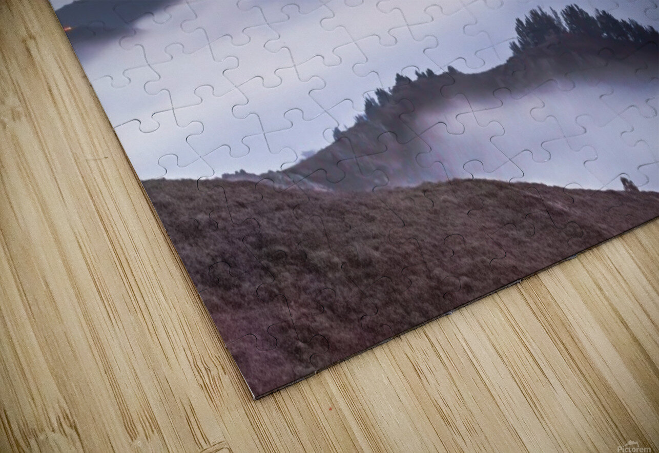 The Golden Gate Bridge in the Fog HD Sublimation Metal print