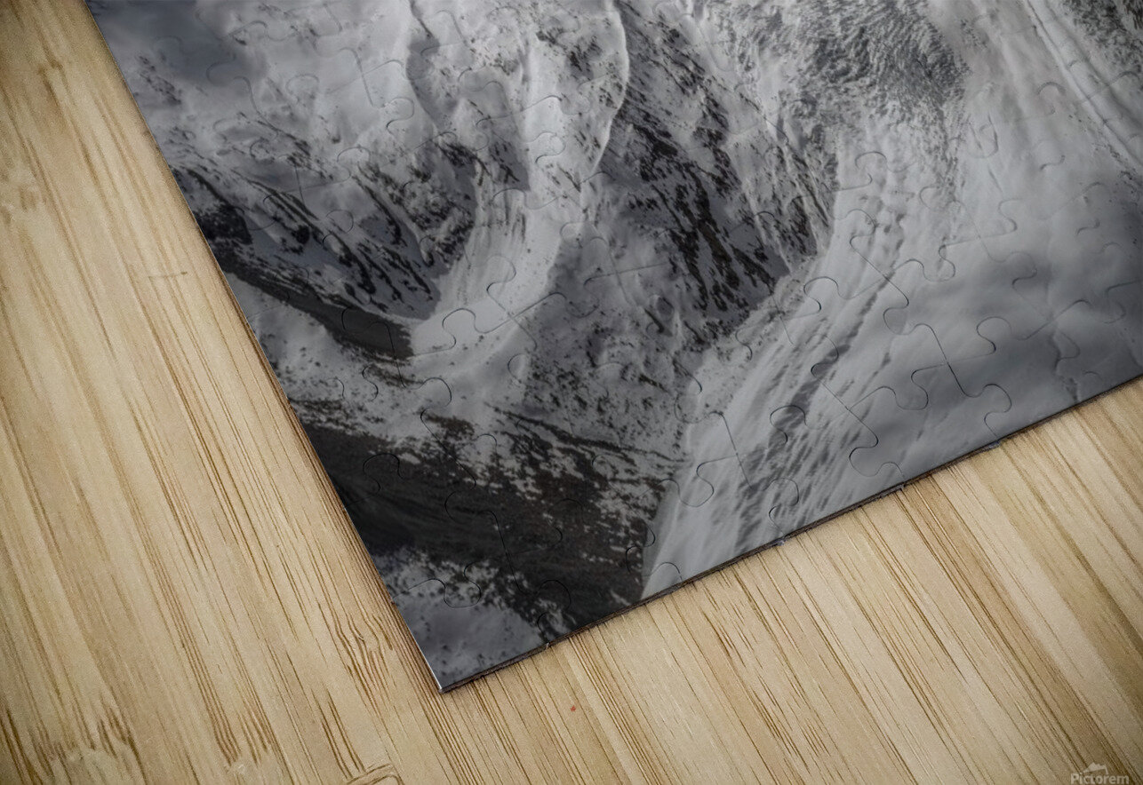 Glacial HD Sublimation Metal print