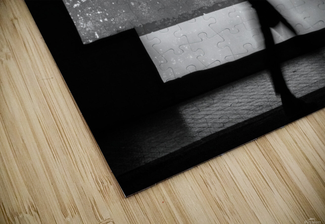 in squares HD Sublimation Metal print