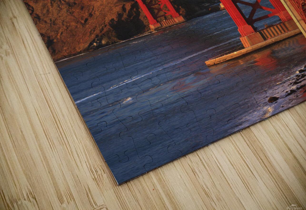 Golden Gate Bridge; San Francisco, California, United States of America HD Sublimation Metal print