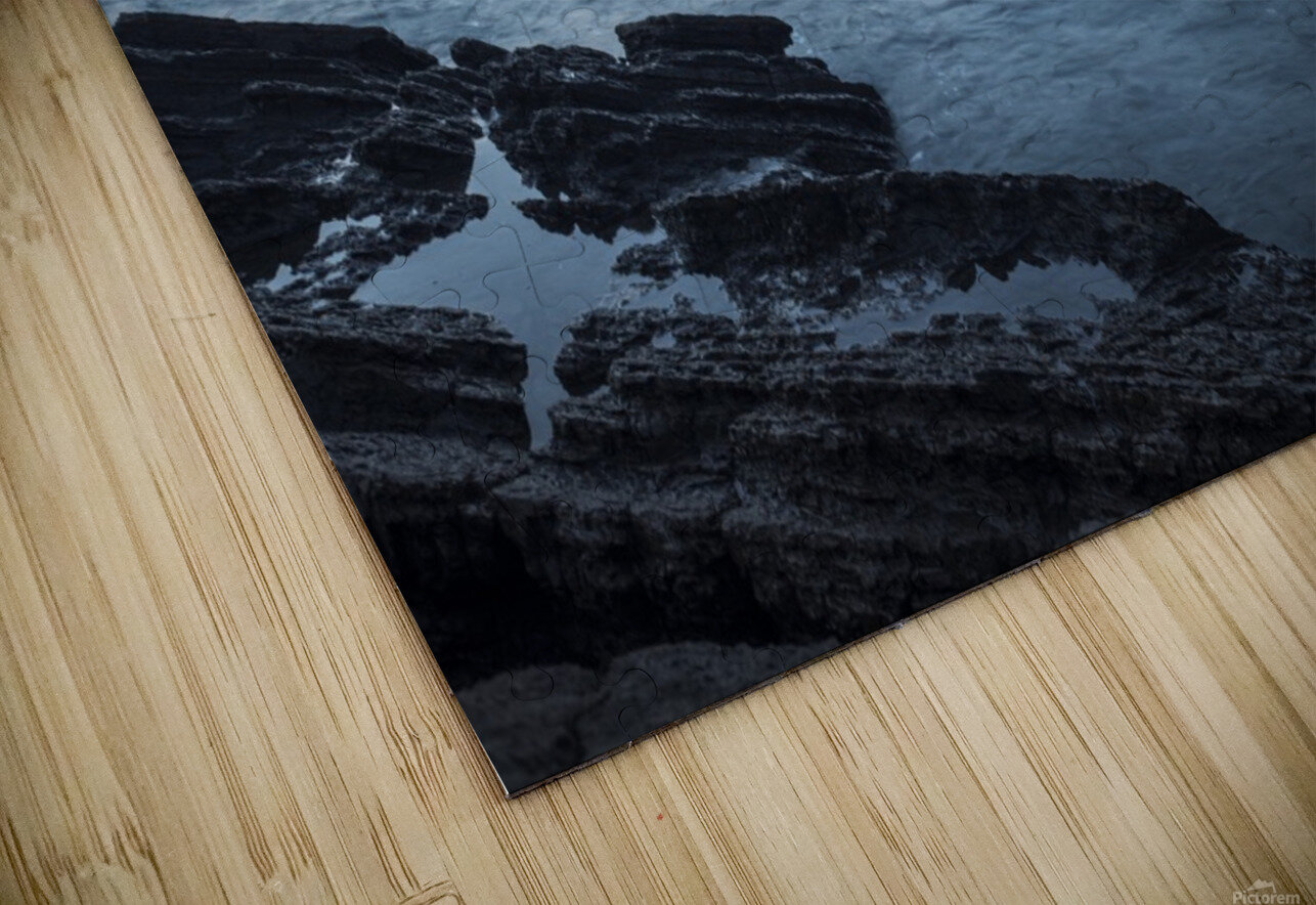 Waiao beach in Yilan County, beautiful volcanic landscape; Taiwan, China HD Sublimation Metal print