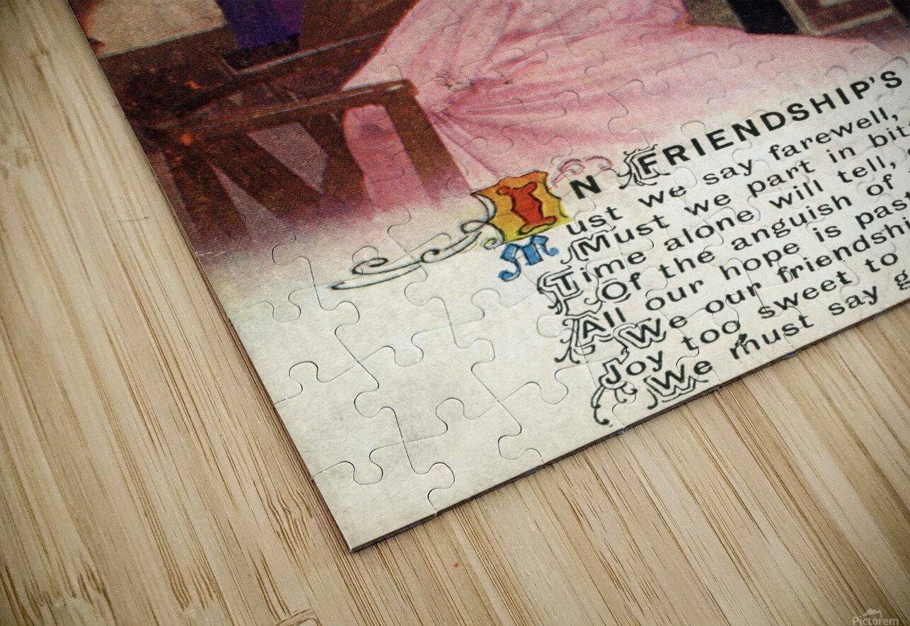 Original  First World War postcard HD Sublimation Metal print