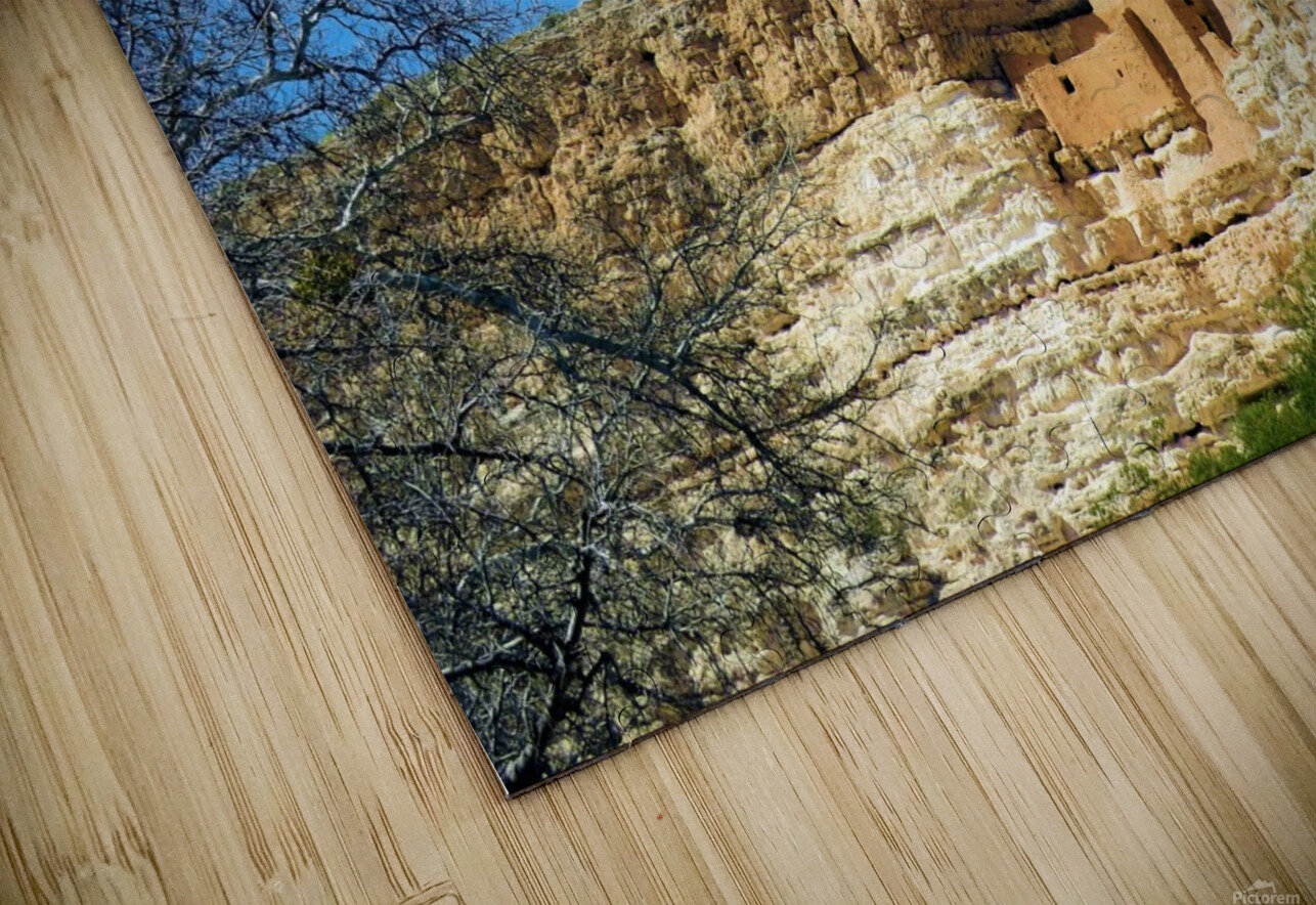 Montezuma's Castle-10 HD Sublimation Metal print