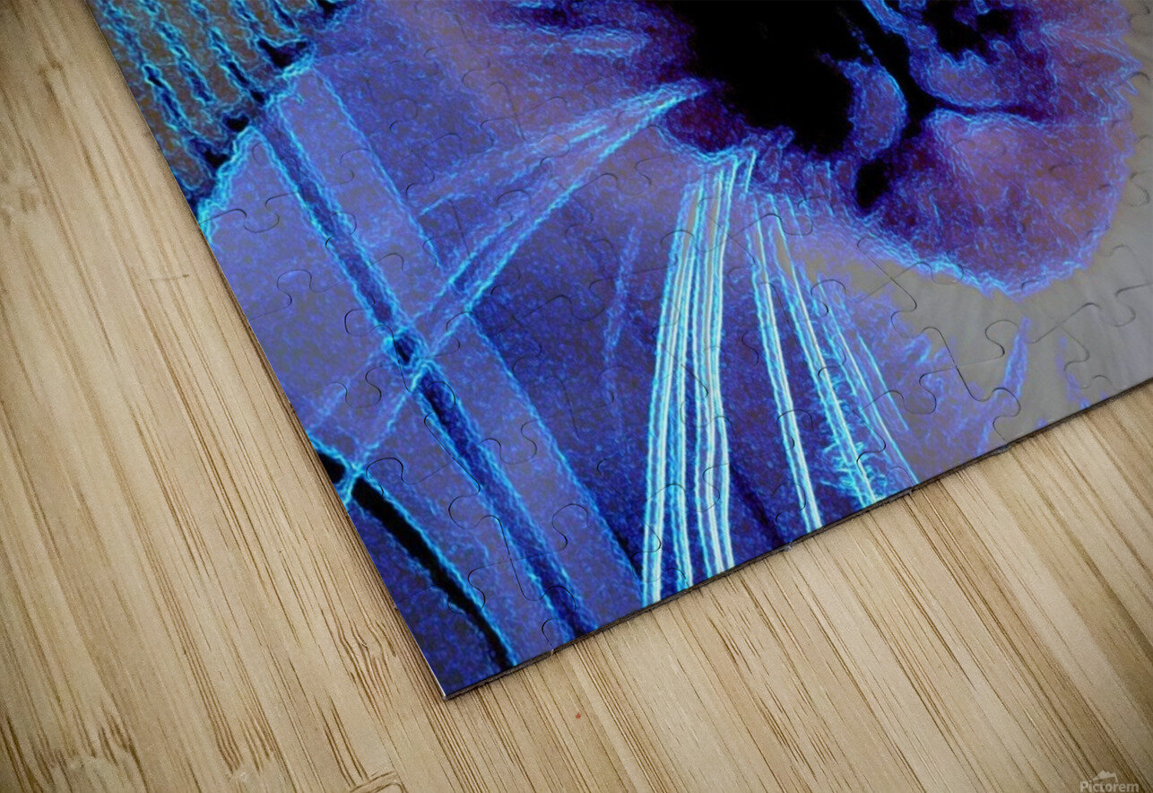 electric kitty HD Sublimation Metal print
