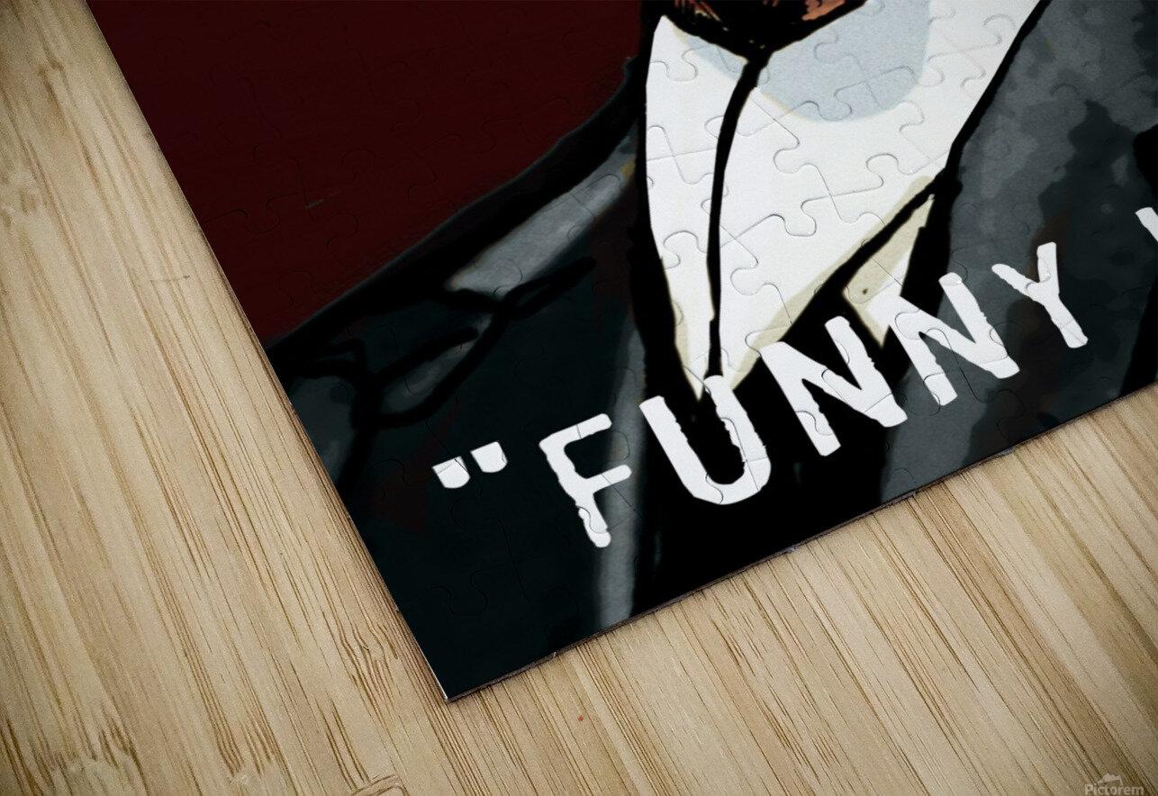 Joe Pesci in Goodfellas - Funny How HD Sublimation Metal print