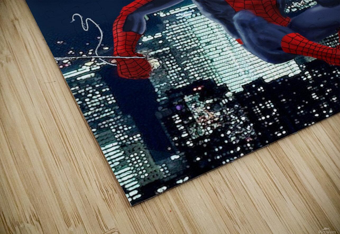 Marvel: Iron Man & Spider-Man HD Sublimation Metal print