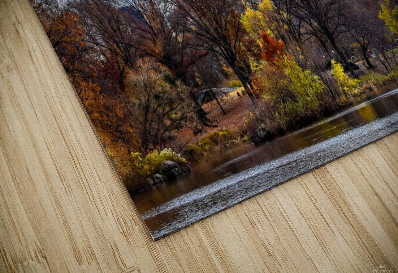 Autumn Central Park  HD Sublimation Metal print