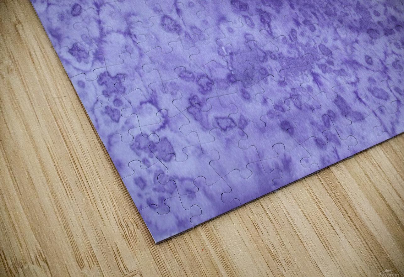 Magenta and Violet Rain. HD Sublimation Metal print