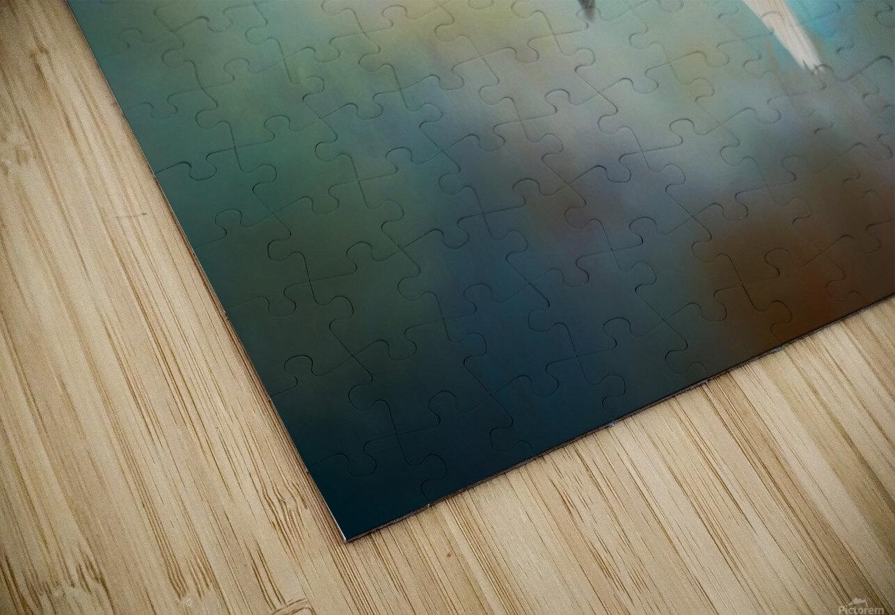 Swan Wings HD Sublimation Metal print
