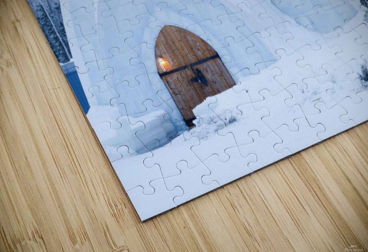 THE WINTER BARN HD Sublimation Metal print
