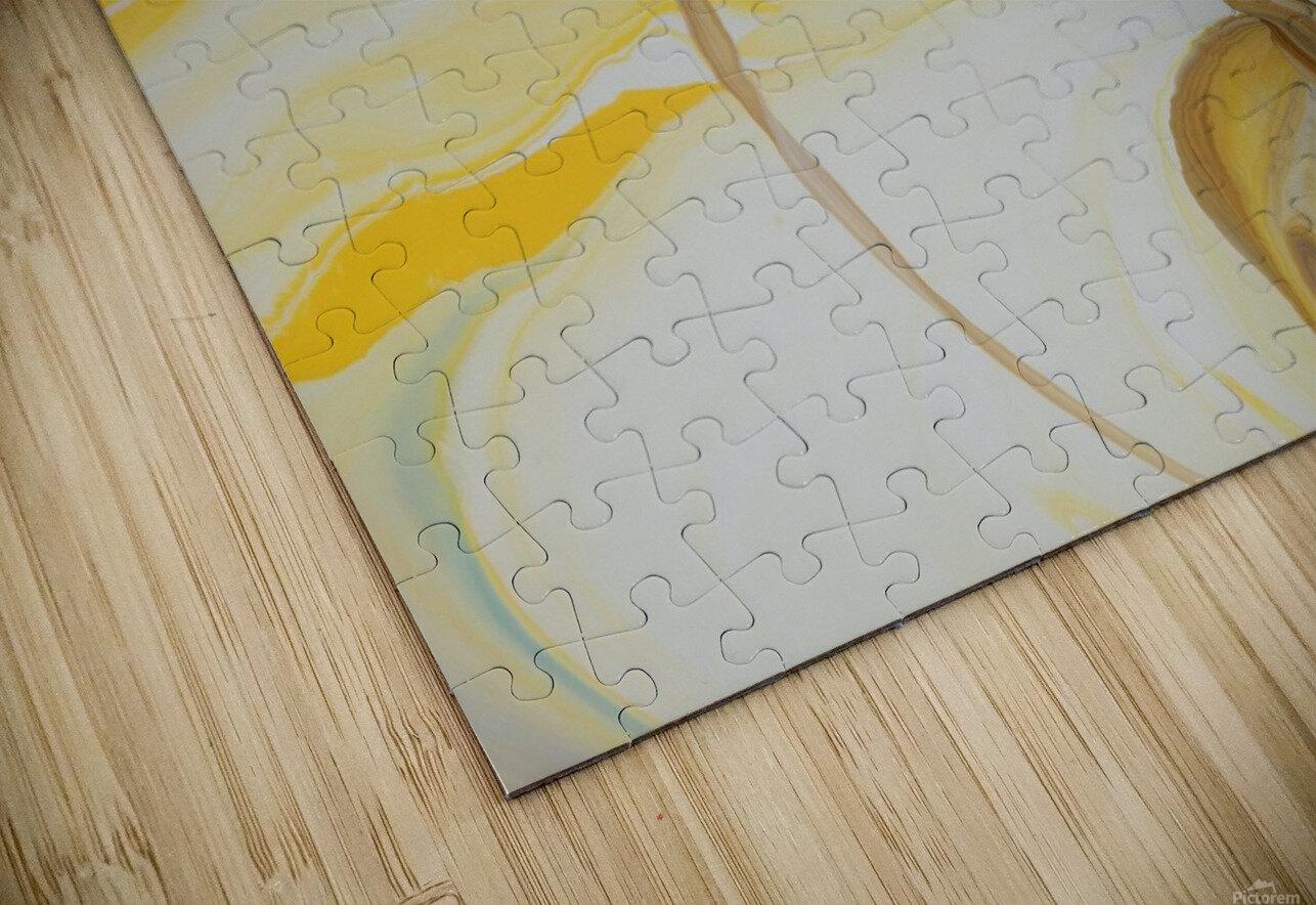 SUN BUBBLE HD Sublimation Metal print