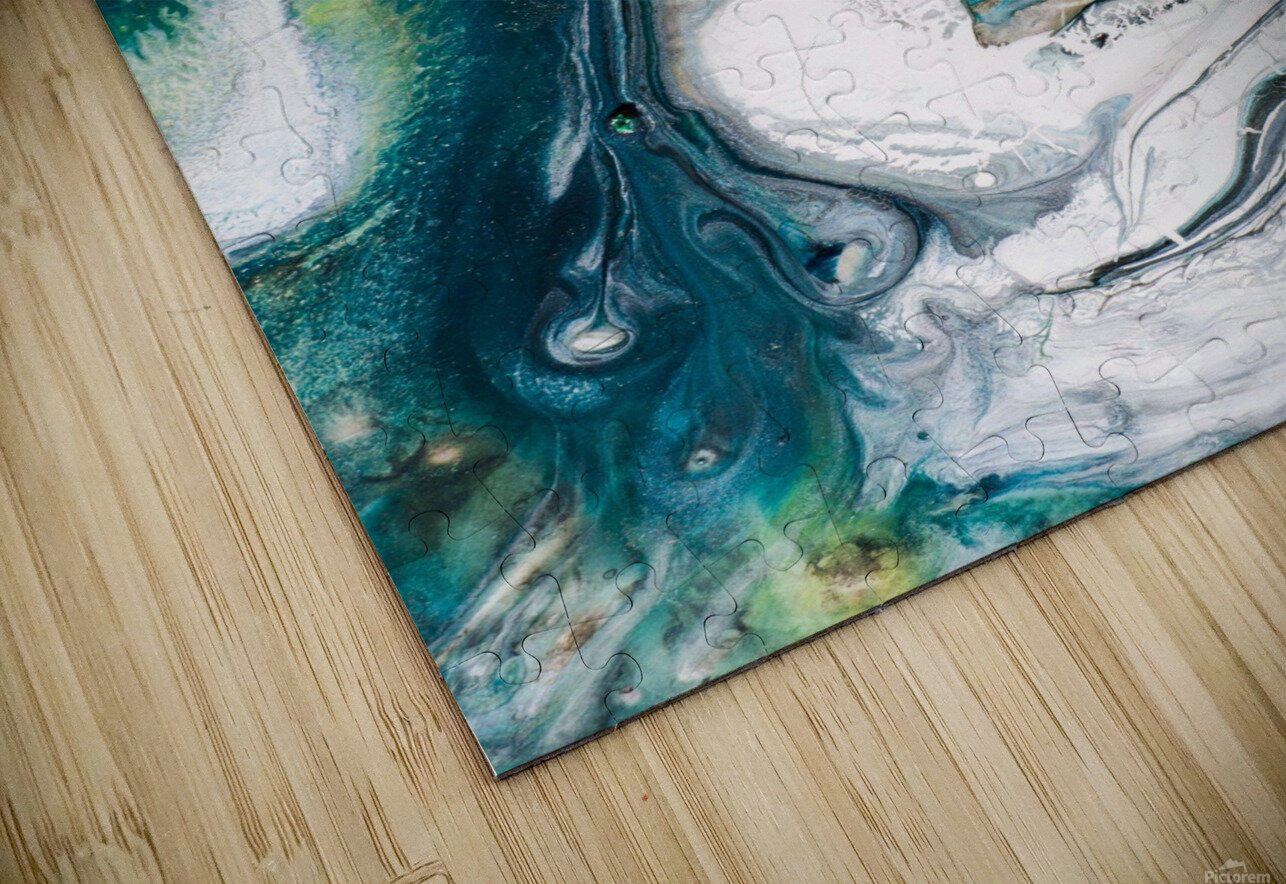 abst HD Sublimation Metal print