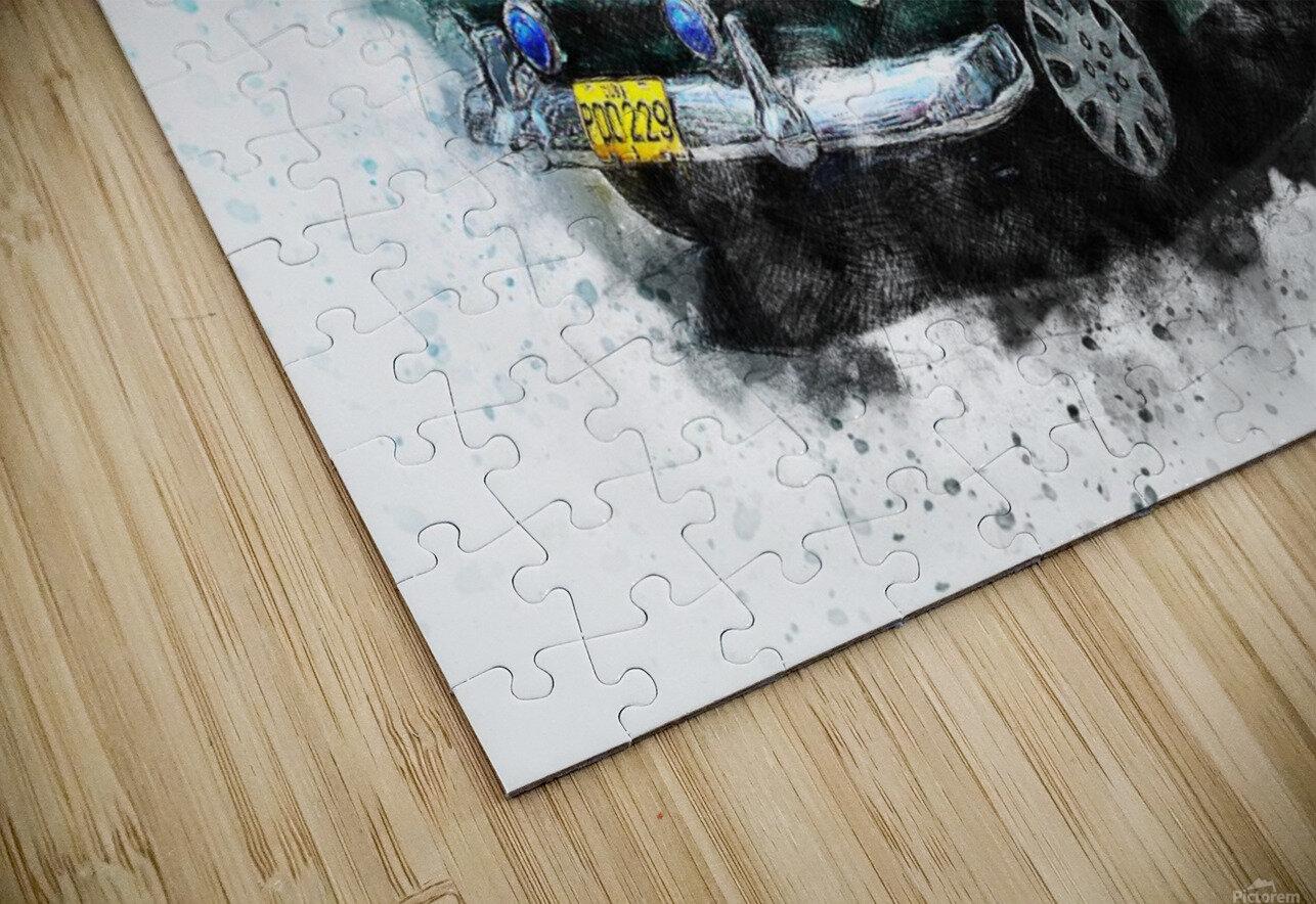 car HD Sublimation Metal print