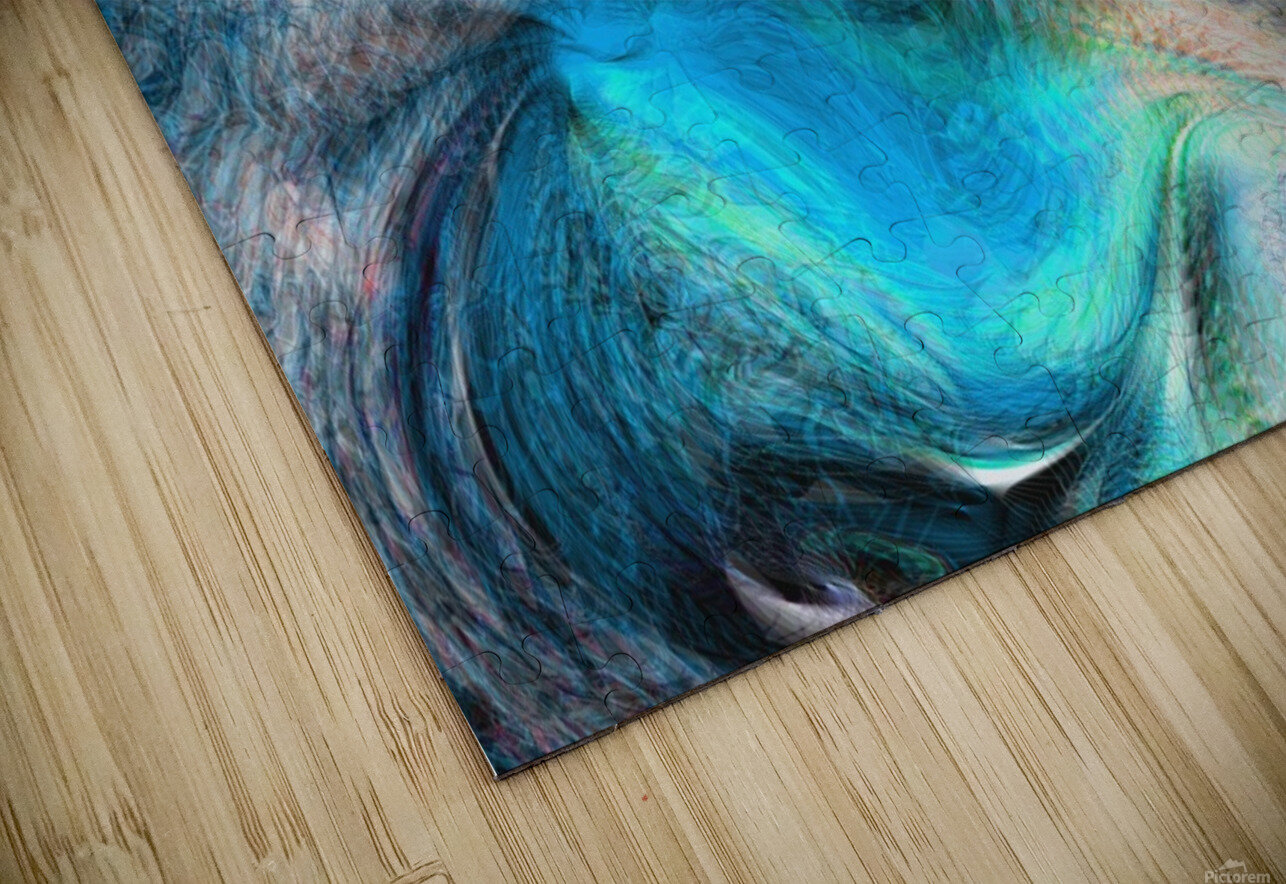 background4 HD Sublimation Metal print
