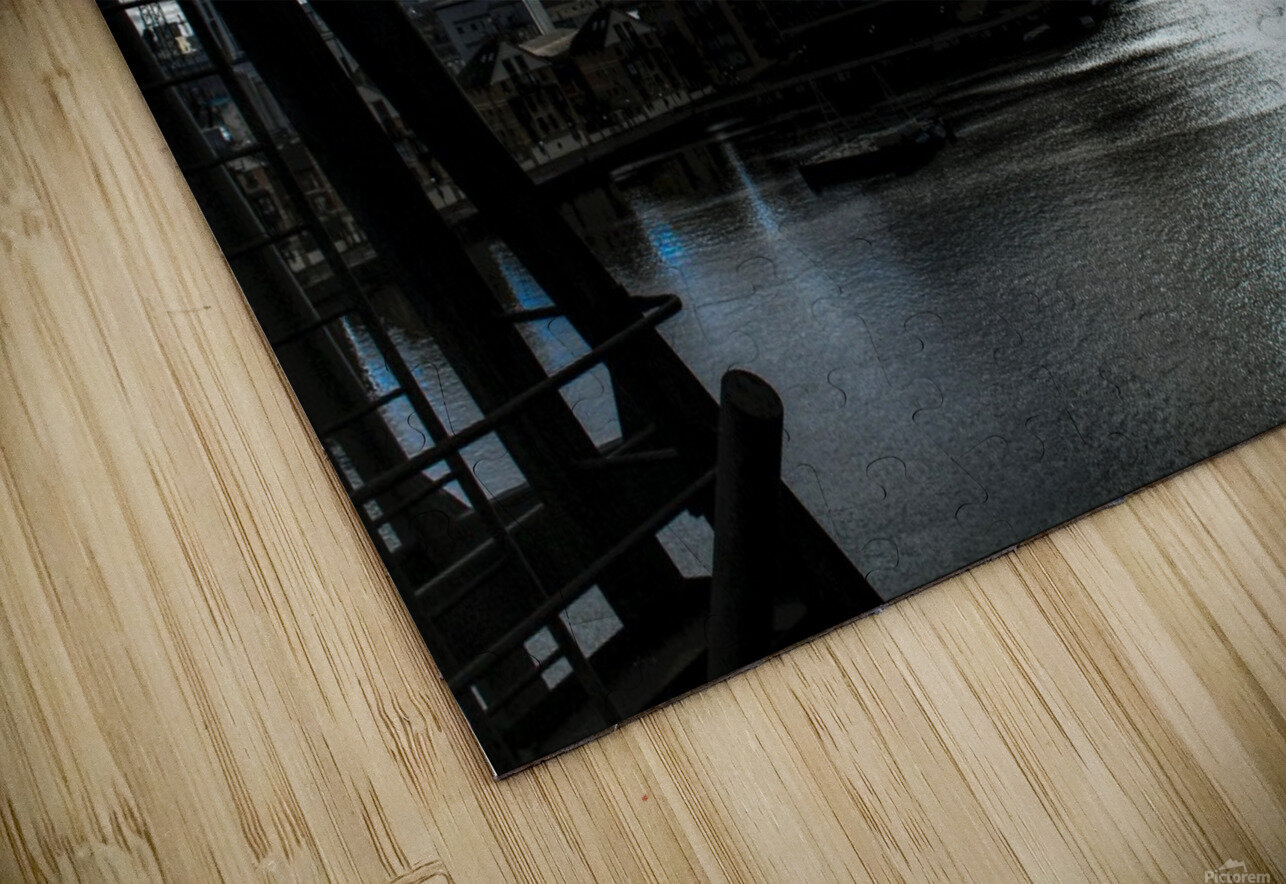 London Dramatic Sky - UK HD Sublimation Metal print