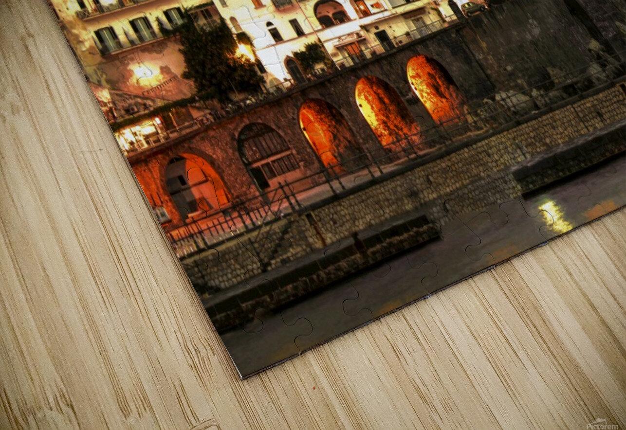 Amalfi Village  Landscape - Italy HD Sublimation Metal print
